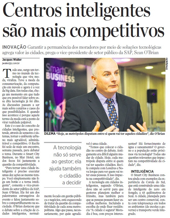 Clipping Jornal do Commercio