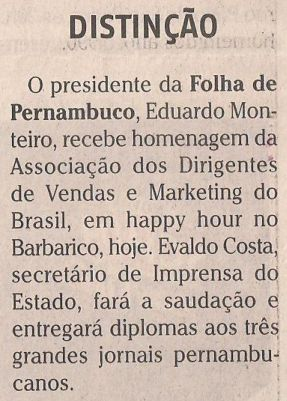 Clipping Folha PE - 27.08.13