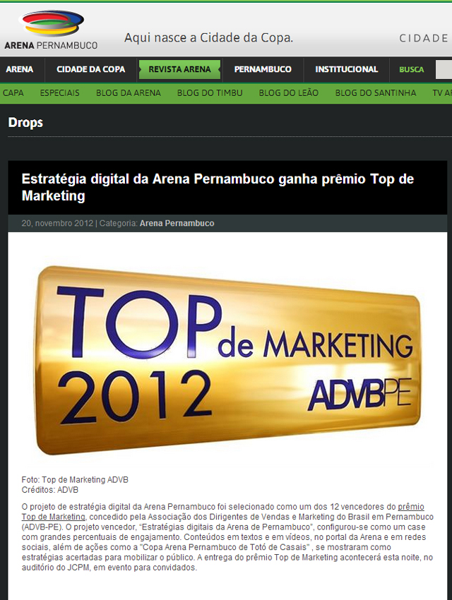 Revista Nordeste Top Clipping