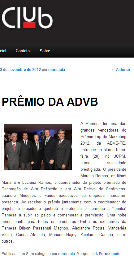 Revista Club - Top - Clipping